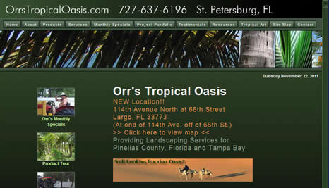 Go to Orr's Tropical Oasis